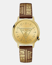 Guess Originals Watch Brown/Gold
