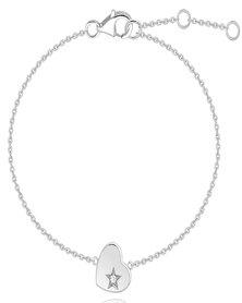 Dhia Cupid Heart Bracelet made Swarovski Zirconia