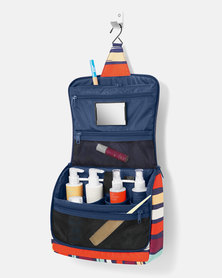 Reisenthel high-quality polyester fabric, water-repellent toiletbag XL artist stripes