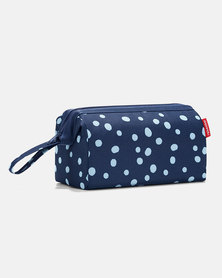 Reisenthel high-quality polyester fabric, travel cosmetic pouch navy