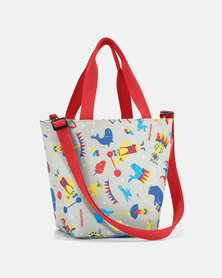 Reisenthel premium-quality, tear-proof polyester, water-repellent shopper XS kids circus