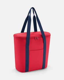 Reisenthel premium-quality polyester, water-repellent thermoshopper red