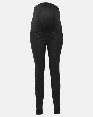 Foxy Mama black maternity pants