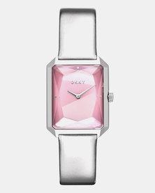 DKNY CitySpire Watch Silver-plated