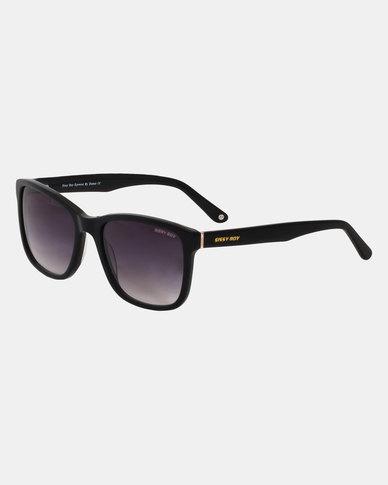 Sissy Boy Rectangle Frame Sunglasses Black