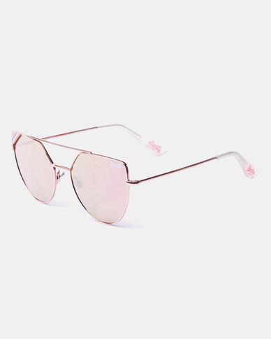 Superdry Cat Eye Frame Rose Gold Sunglasses