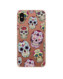 Hey Casey! Phone Case Cover for iPhone XS Max - Sugar Skulls design