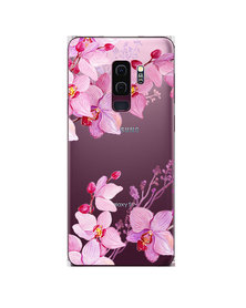 Hey Casey! Phone Case Cover for Samsung S9 Plus - Orchids design
