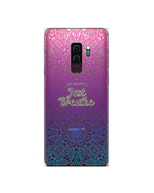 Hey Casey! Phone Case Cover for Samsung S9 Plus - Just Breathe design