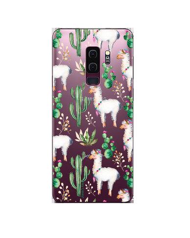 Hey Casey! Phone Case Cover for Samsung S9 Plus - llama design