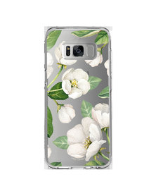 Hey Casey! Phone Case Cover for Samsung S8 - Winter Blossoms design