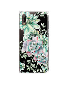 Hey Casey! Phone Case Cover for Huawei P20 - Succulents design