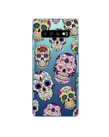 Hey Casey! Phone Case Cover for Samsung S10 - Sugar Skulls design