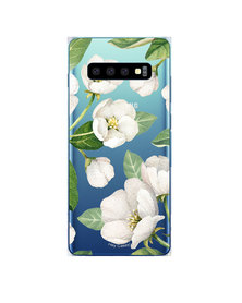 Hey Casey! Phone Case Cover for Samsung S10 Plus - Winter Blossoms design