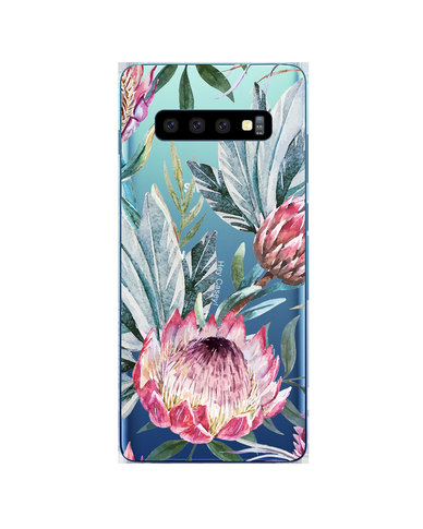 Hey Casey! Phone Case Cover for Samsung S10 Plus - Protea design