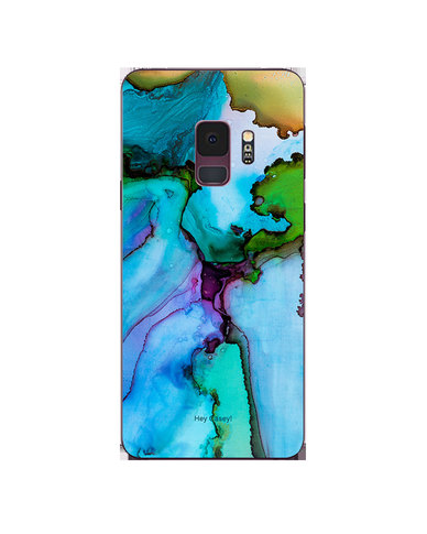 Hey Casey! Phone Case Cover for Samsung S9 - Blue Ink design