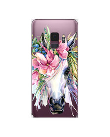 Hey Casey! Phone Case Cover for Samsung S9 - Boho Horse design