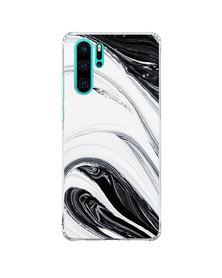Hey Casey! Phone Case Cover for Huawei P30 Pro - Black Swirl design
