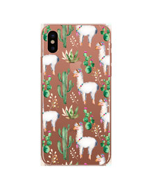 Hey Casey! Phone Case Cover for iPhone XS Max - Llama design