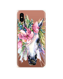 Hey Casey! Phone Case Cover for iPhone XS Max - Boho Horse design