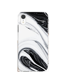 Hey Casey! Phone Case Cover for iPhone XR - Black Swirl design
