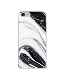 Hey Casey! Phone Case Cover for iPhone 7/8 - Black Swirl design