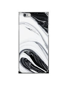 Hey Casey! Phone Case Cover for iPhone 6 Plus - Black Swirl design