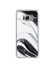 Hey Casey! Phone Case Cover for Samsung S8 - Black Swirl design