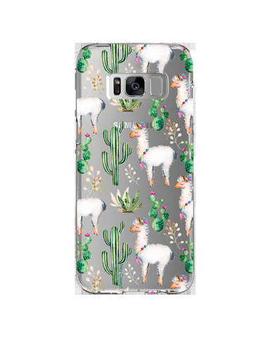 Hey Casey! Phone Case Cover for Samsung S8 - llama design