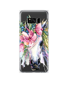 Hey Casey! Phone Case Cover for Samsung S8 Plus - Boho Horse design