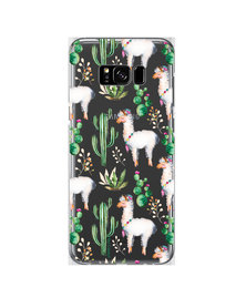 Hey Casey! Phone Case Cover for Samsung S8 Plus - llama design