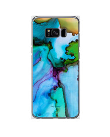 Hey Casey! Phone Case Cover for Samsung S8 Plus - Blue Ink design