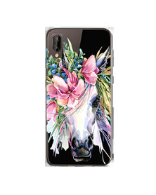 Hey Casey! Phone Case Cover for Huawei P20 - Boho Horse design