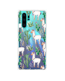Hey Casey! Phone Case Cover for Huawei P30 Pro - llama design