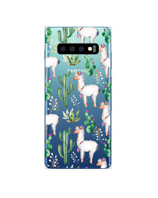 Hey Casey! Phone Case Cover for Samsung S10 Plus - llama design