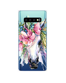 Hey Casey! Phone Case Cover for Samsung S10 Plus - Boho Horse design