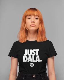 Vannie Kaap Just Dala Ladies Black T-shirt