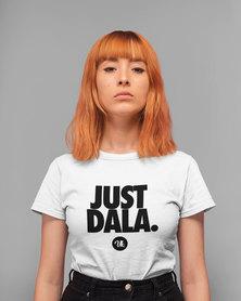 Vannie Kaap Just Dala Ladies White T-shirt
