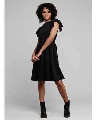 MARETHCOLLEEN Tam Skater Dress Black