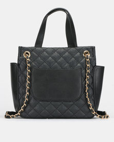 BELLINI Quilted Bag Black
