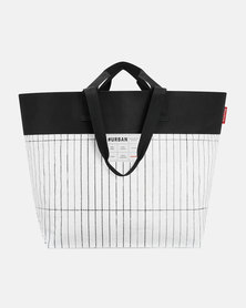 Reisenthel high-quality, laminated polypropylene and high-quality polyester #urban bag tokyo black and white