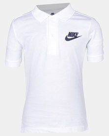 Nike B NSW Polo Matchup White