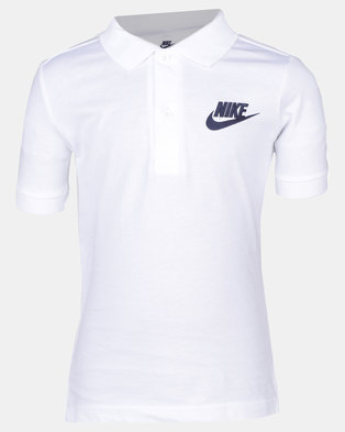 Nike B NSW Polo Matchup White