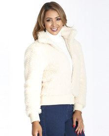 Contempo Sherpa Jacket Cream