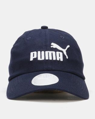 Puma Sportstyle Core Peacoat Essentials Cap Jr Navy