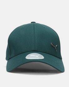 Puma Sportstyle Core Metal Cat Cap Green
