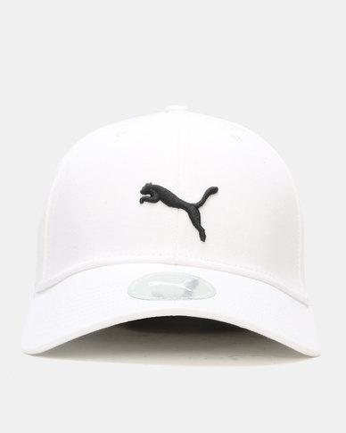 Puma Sportstyle Core Stretchfit BB Cat Cap White