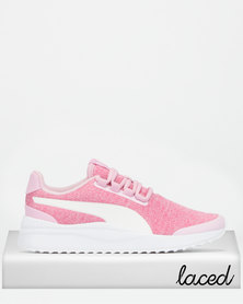 Puma Pacer Next FS Knit Jr Sneakers Pink
