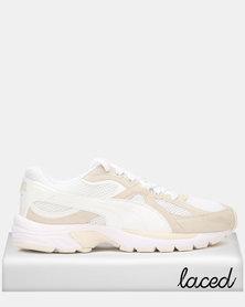 Puma Sportstyle Core Axis Plus SD Sneakers Puma White/Whisper White