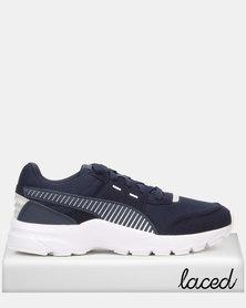 Puma Sportstyle Core Future Runner Sneakers Peacoat/Puma White